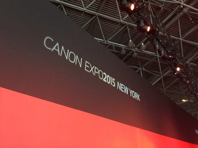 From Canon Expo 2015 – The Broad Overview