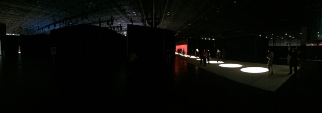 The Canon Convention Setup from Behind