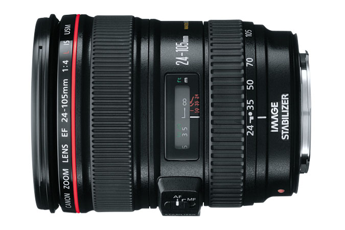 The Canon L 24-105MM F4 Lens - a giant step-up.