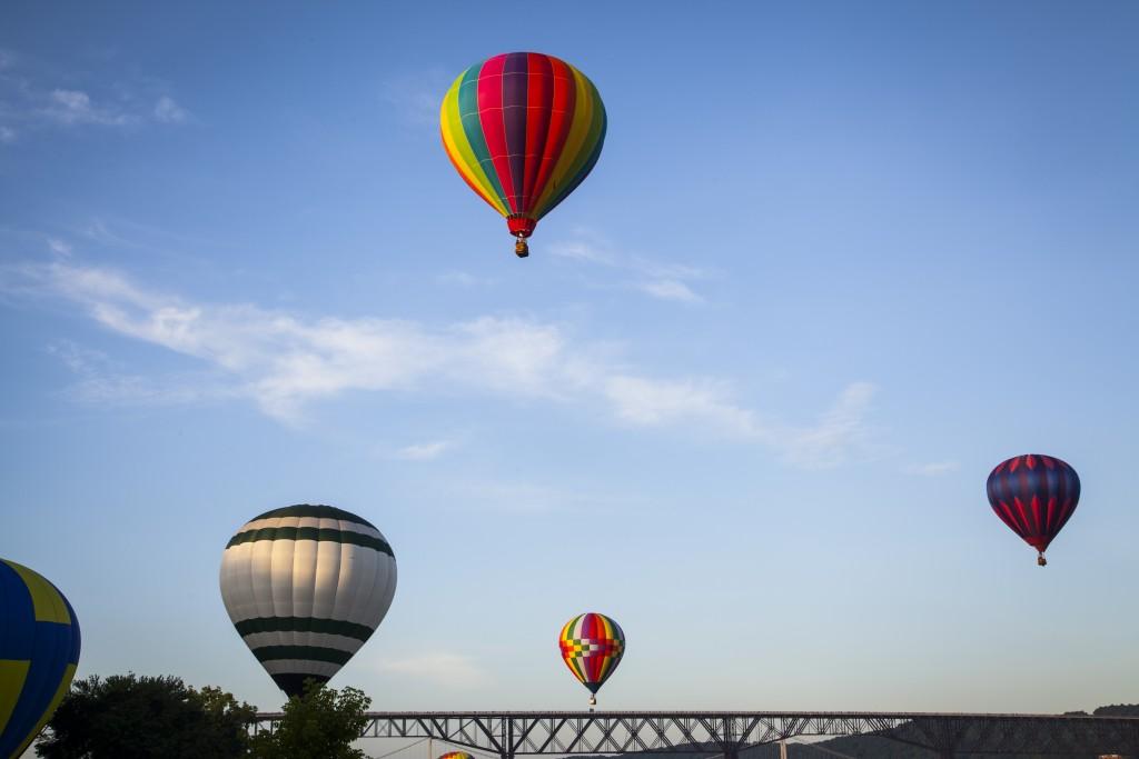Hot Air Balloons at the Dutchess County Balloon Festival